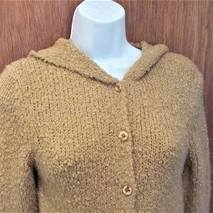 Blue Asphalt beige sweater coat